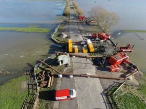 UK: New pumping strategy is to relief flood Somerset levels