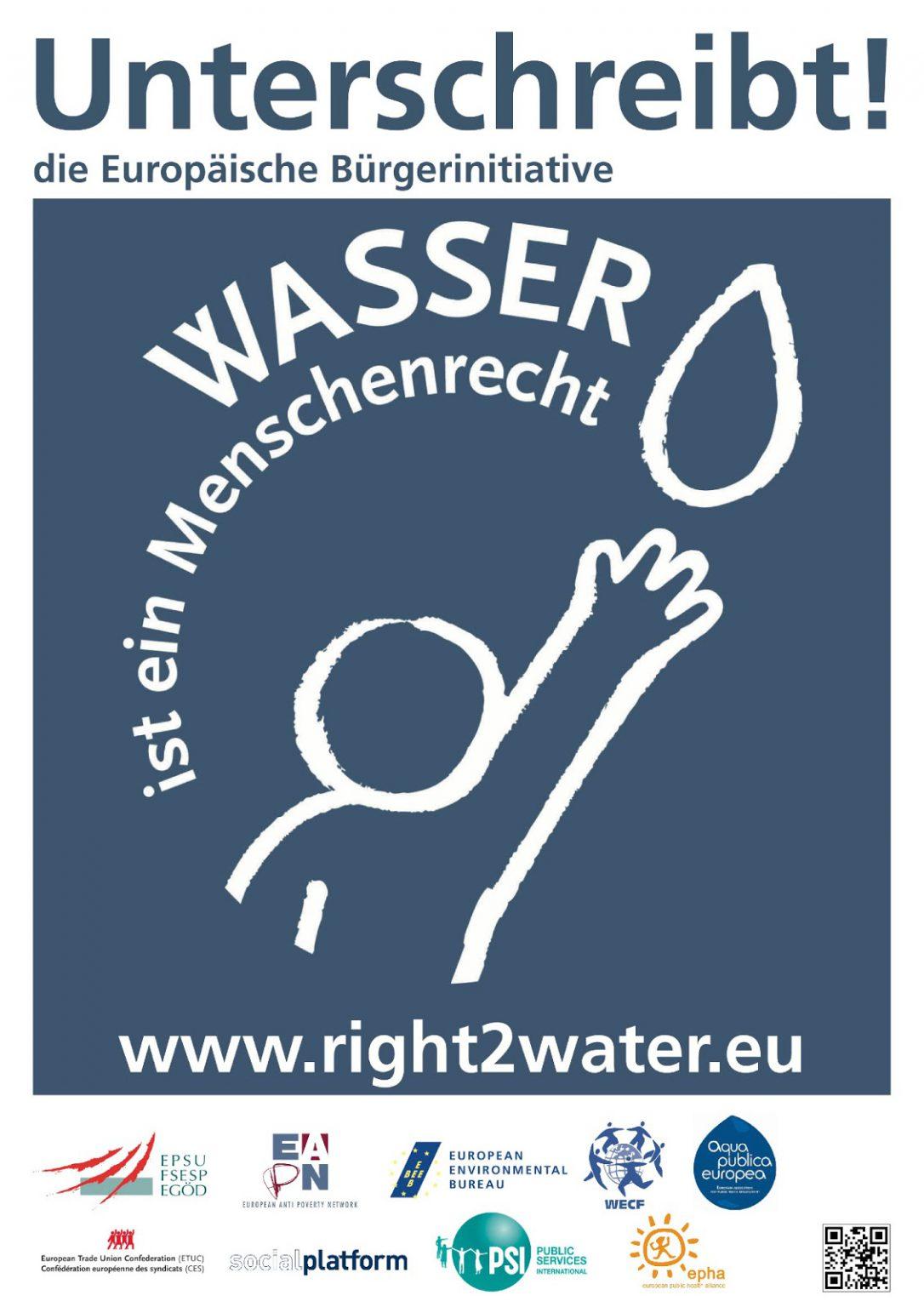 "Right2Water:  ""EC ignores outcome referendum"""
