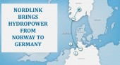 Nordlink brings hydropower from Norway to Germany