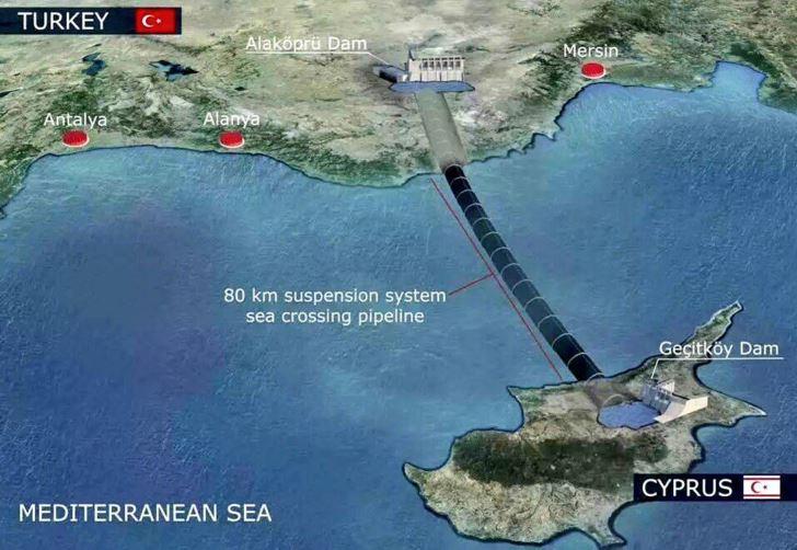 Turkish water pipeline causes dispute in Cyprus