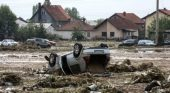 EU experts at work in flood hit Macedonia