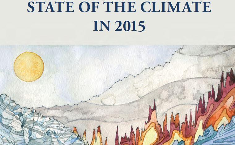 New American report shows global temperature rises again in 2015