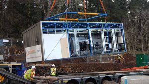Scotland: Village gets mobile drinking water treatment unit