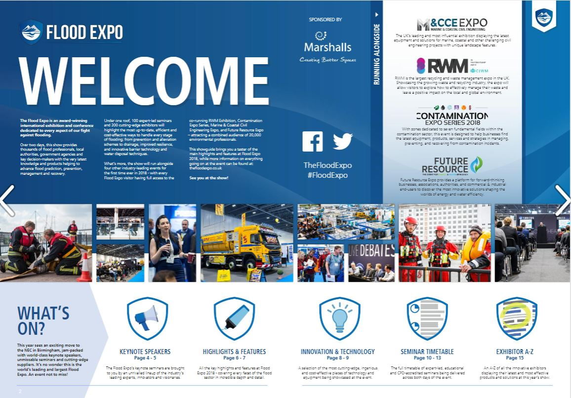 Flood Expo: World's largest exhibition for flood professionals (Advertorial)