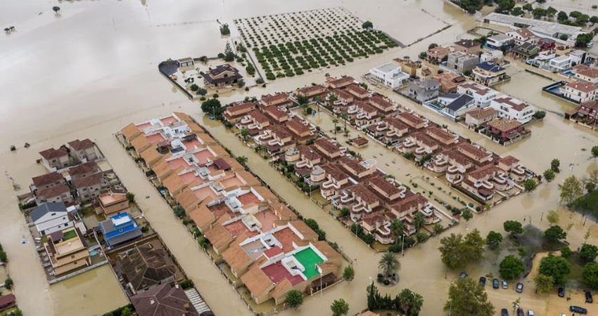 Spanish rainfall record: 400 litres per square meter in 24 hours