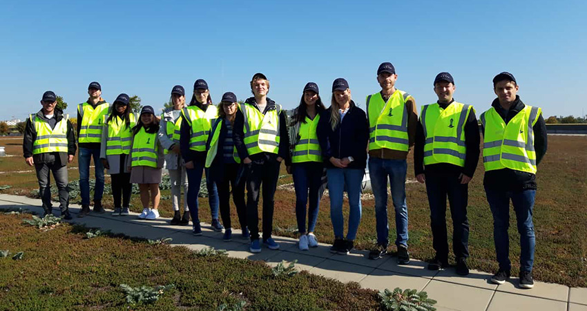 Young Water Professionals followed a program of two weeks including excursions to different Water Works. Photo: Marcel Rompelman.