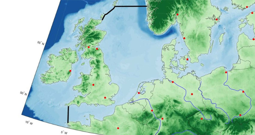 "Researchers: ""Only a dam across the North Sea helps against projected sea rises"""