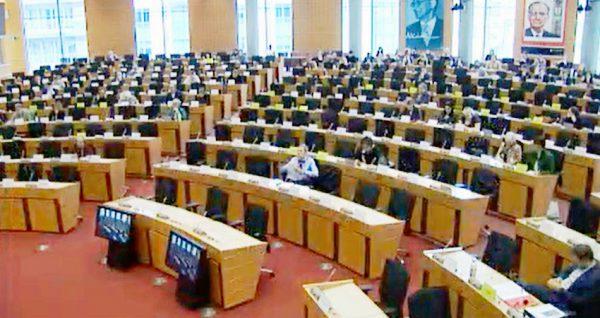 Veronica Manfredi visited the European Parliament.