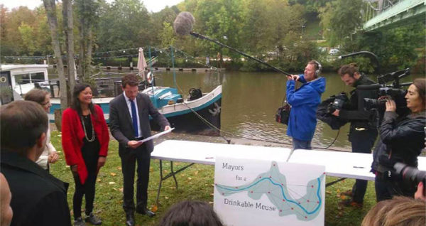 Mayors for drinkable Meuse