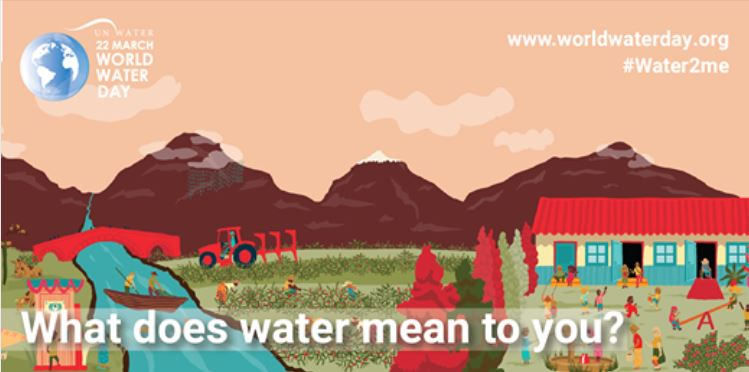 Theme of World Water Day 2021 is #Water2me