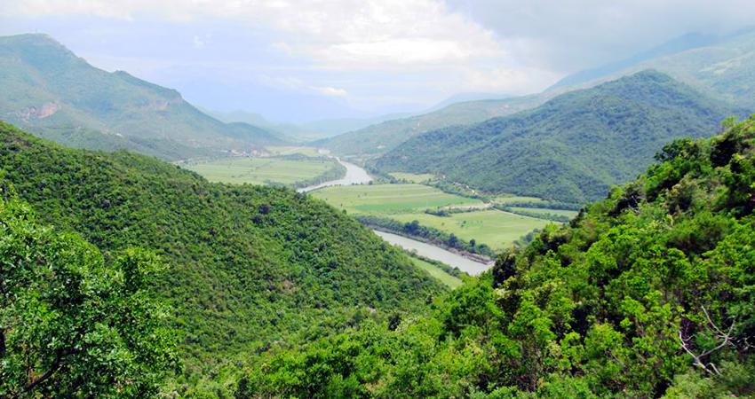 Hydropower threatens Vjosa River